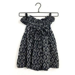 ⬇️$25 UO {Staring at Stars} Paperbag Ikat Skirt S